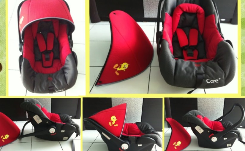 Penggunaan Car Seat Bayi