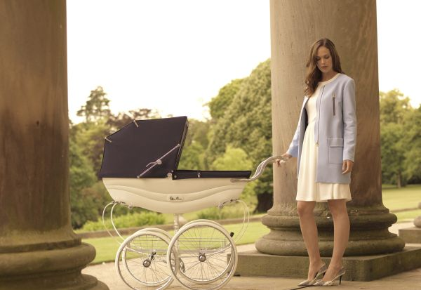 Stroller silver cross ibu anak